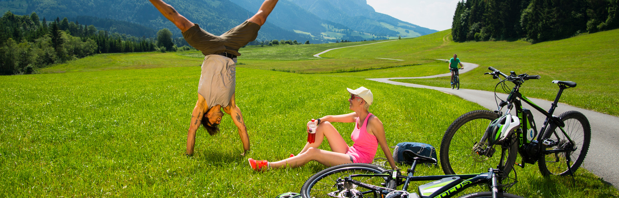 Rad- und Bikingurlaub Kaiserwinkl